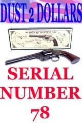 """Navy Arms Smith & Wesson No.3 U.S. Cavalry Schofield Revolver Serial Number 78 7"""" 45 Colt In The Box - 1 of 13"""