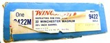 Early Winchester Model 9422 9422M .22 Mag Winchester Magnum Lever Action Rifle In The Box - 9 of 14
