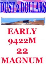 Early Winchester Model 9422 9422M .22 Mag Winchester Magnum Lever Action Rifle In The Box