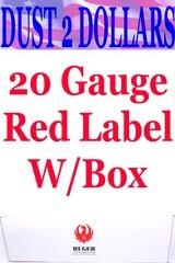 """Ruger Red Label 20 Gauge O/U Shotgun W/Box 26"""" W/Tubes KRL-2029-BR 3"""" Magnum Stainless/Blue"""