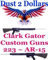 "Clark Custom Guns GATOR AR-15 AR15 223 24"" HBR Special Order Williams Set Trigger - 1 of 6"