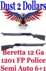 beretta-model-1201fp-law-enforcement-20-police-version-12-ga-semi-automatic-riot-shotgun-w-sights-6-1-excellent-condition