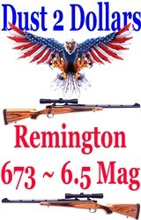 Remington Model 673 Ultimate Guides' Rifle in 6.5 Remington Magnum in Excellent Condition - 1 of 14