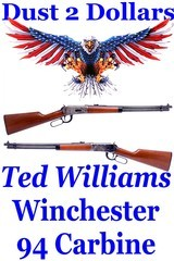Ted Williams Winchester 94 Clone Model 100 30-30 Lever Action Carbine NR - 1 of 20