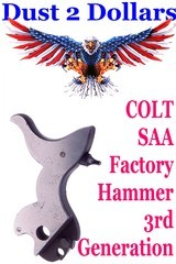 NOS Factory Colt SAA 3rd Generation Hammer Assembly Never on a Gun or Fitted