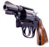 "Pristine Smith & Wesson Model 12-3 Military & Police Airweight 2"" SA/DA.38 Special Revolver Made in 1982 In The Box - 4 of 16"