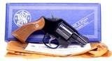 "Pristine Smith & Wesson Model 12-3 Military & Police Airweight 2"" SA/DA.38 Special Revolver Made in 1982 In The Box - 16 of 16"