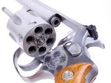 Gorgeous Smith & Wesson Stainless Model 651 22 Magnum The .22 M.R.F. Target Kit Gun with 4 Inch Barrel in Original Box - 8 of 15