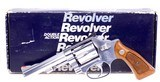 Gorgeous Smith & Wesson Stainless Model 651 22 Magnum The .22 M.R.F. Target Kit Gun with 4 Inch Barrel in Original Box - 15 of 15