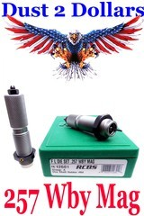 Boxed RCBS Full Length Sizing Reloading Dies for the .257 Weatherby Magnum Caliber Excellent Condition - 1 of 1