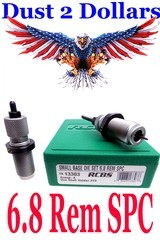 Boxed Set of RCBS Small Base Dies Die Set for the 6.8 Rem Remington SPC 13303 for Semi Auto Reloading - 1 of 1