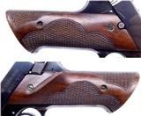 "Pre-WWII High Standard Hi-Standard Model E .22 Target Pistol with a 6 3/4"" Bull Barrel with Original Grips Very Fine AMN - 13 of 18"