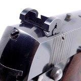 "Pre-WWII High Standard Hi-Standard Model E .22 Target Pistol with a 6 3/4"" Bull Barrel with Original Grips Very Fine AMN - 12 of 18"