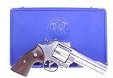 """Smith & Wesson Model 629-6 Classic .44 Magnum with 5"""" Full Lug Barrel Eagle Rosewood Heritage Grips Product Code 163636 - 9 of 9"""