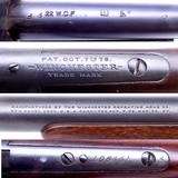 RARE Winchester Model 1885 Low Wall Takedown Rifle in .22 WCF with Factory Letter Winchester Tool Ammunition Mfd 1911 - 18 of 19