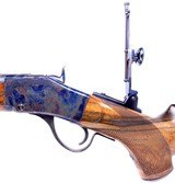 Custom Shop C. Sharps New Model 1875 Long Range Sporting – Target Rifle chambered in .45-90 Tom Axtell Sights - 8 of 20