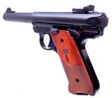 "ANIB Ruger MKIV Semi Automatic .22 Target Pistol with 5.5"" Target Barrel Volquartsen Trigger Sear Kit 5X Magazines - 4 of 15"