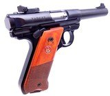 "ANIB Ruger MKIV Semi Automatic .22 Target Pistol with 5.5"" Target Barrel Volquartsen Trigger Sear Kit 5X Magazines - 6 of 15"
