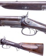 SCARCE Cased J Purdey of London Double Rifle in 450 BPE Manufactured in 1868 for the 15th Duke of Norfolk - 3 of 13