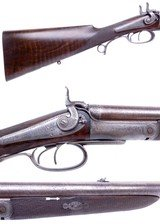 SCARCE Cased J Purdey of London Double Rifle in 450 BPE Manufactured in 1868 for the 15th Duke of Norfolk - 4 of 13