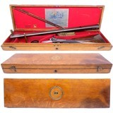 SCARCE Cased J Purdey of London Double Rifle in 450 BPE Manufactured in 1868 for the 15th Duke of Norfolk - 13 of 13