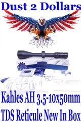 new-in-the-box-kahles-ah-3-5-10x50mm-rifle-scope-with-the-tds-reticule-matte-finish-with-paperwork-671867l