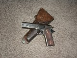 R.A.F. 1911 .455 with UNUSUAL HOLSTER
