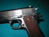 COLT 1941 BLUE RS INSPECTED 1911-A1, BEAUTIFUL HIGH CONDITION - 4 of 13