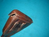 VERY NICE 1939 LUGER HOLSTER - 5 of 10
