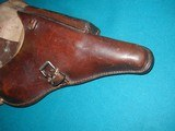 VERY NICE 1939 LUGER HOLSTER - 8 of 10
