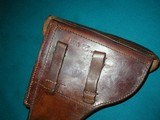VERY NICE 1939 LUGER HOLSTER - 3 of 10