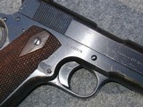 """FANTASTIC COLT 1911 """" NAVY """" RARE, 1918 ISSUE - 4 of 7"""