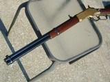 stunning model 1866 carbine, mfd. 1875, 98% originalblue w/ letter and mint bore......