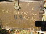 WWII FIELD DESK UNIT MARKED - 14 of 14