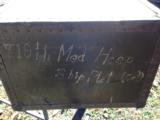 WWII FIELD DESK UNIT MARKED - 4 of 14