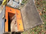 WWII FIELD DESK UNIT MARKED - 5 of 14