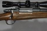 Custom built mauser in .338 Win Mag Dick Hodgson metal - 1 of 10