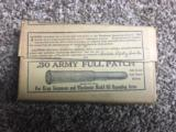 Winchester .30 ARMY PATCH