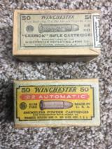 "Collectible Winchester .22WRF ""Sealed Box""- Winchester .22 Auto"
