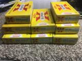 Ammo Lot from 1960's ....8 Yellow Boxes