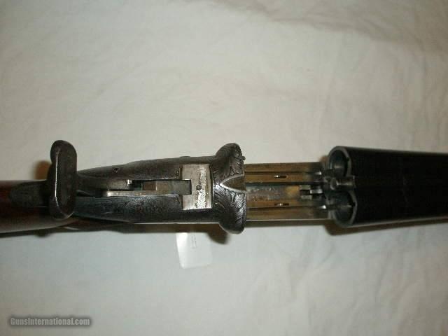 Darne Slide Action, 12ga, NICE!! Engraved! - 5 of 15