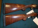 Winchester Model 23 Light and Heavy Duck Pair, NIC 12 and 20ga