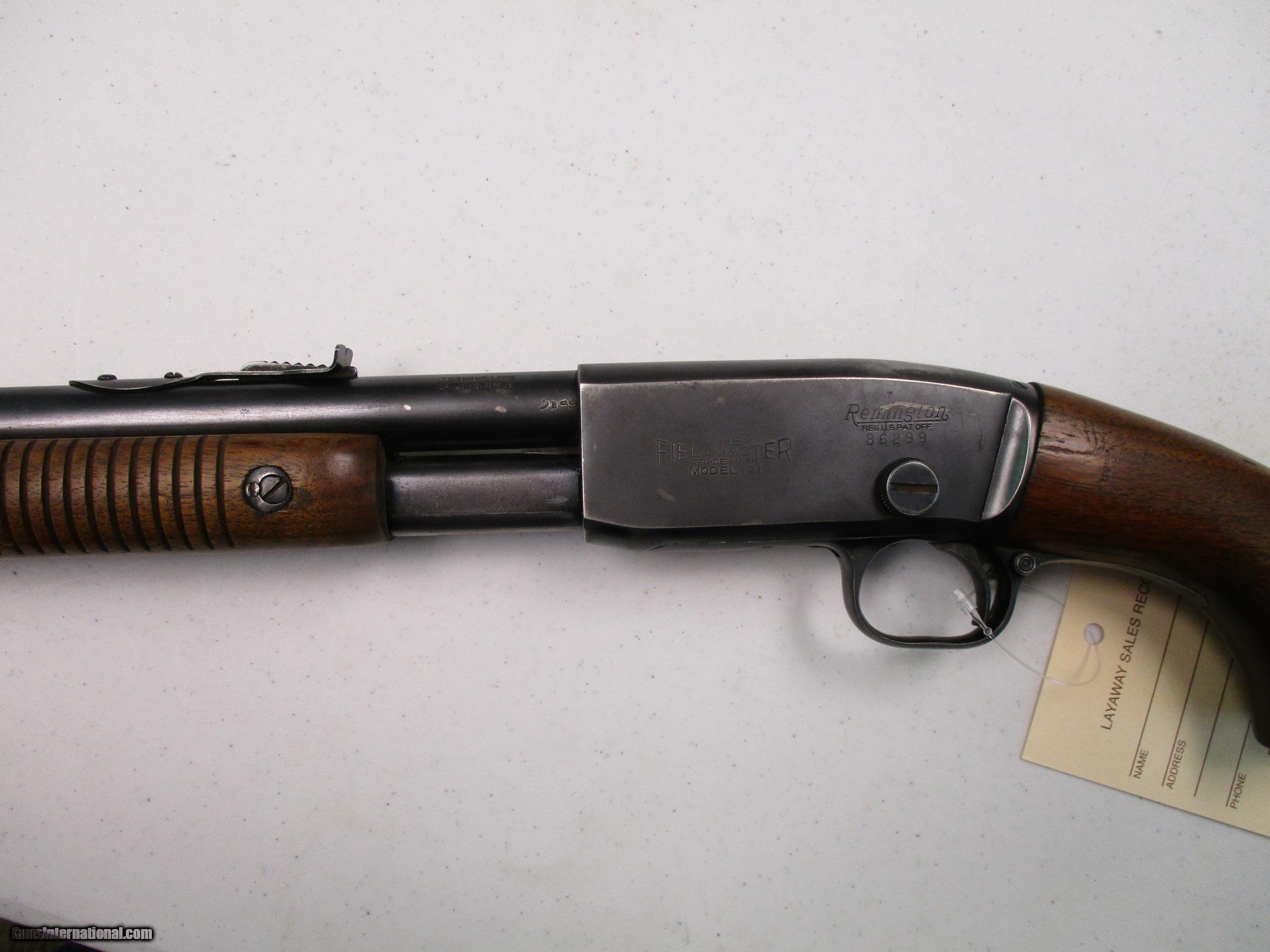 Remington 121 Fieldmaster, 22 lr, pump action, nice!