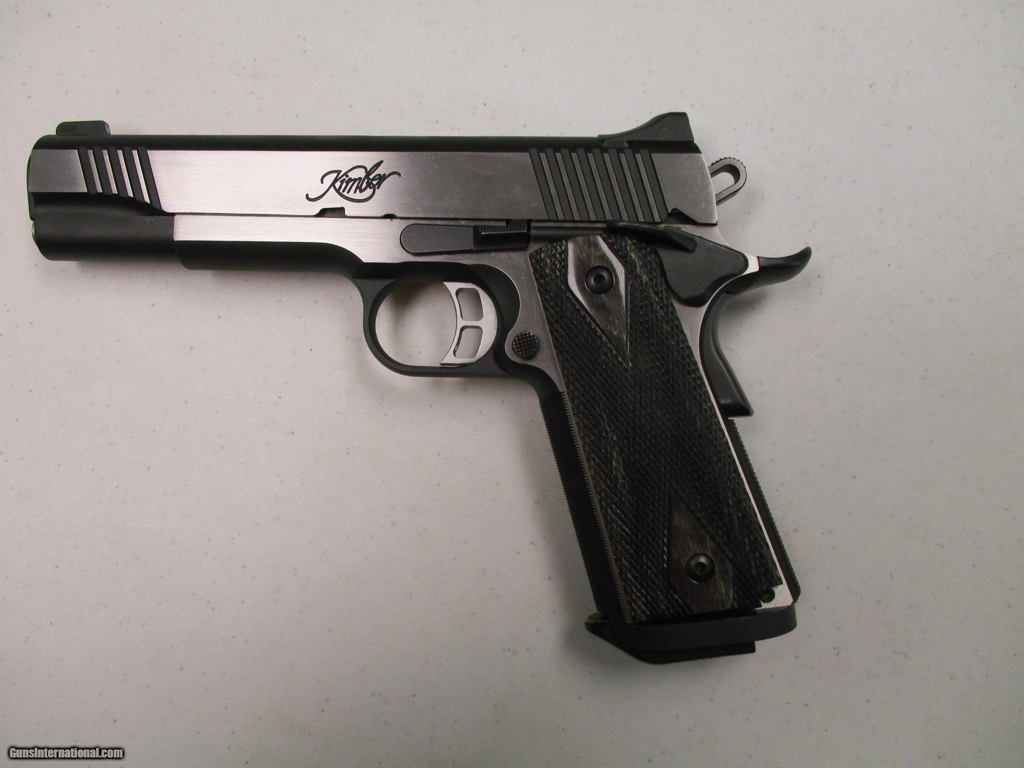 Kimber 1911 Custom Elite Ii 45 Acp Used In Case