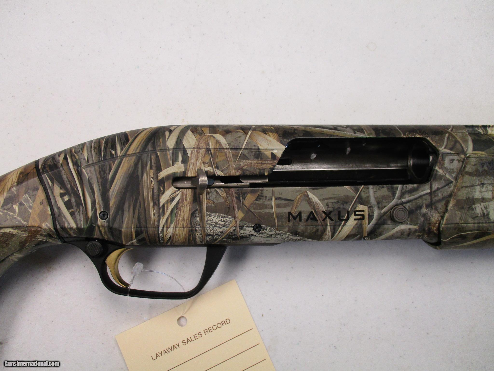 Browning Maxus Max 5 12ga 35 Mag Used In Case