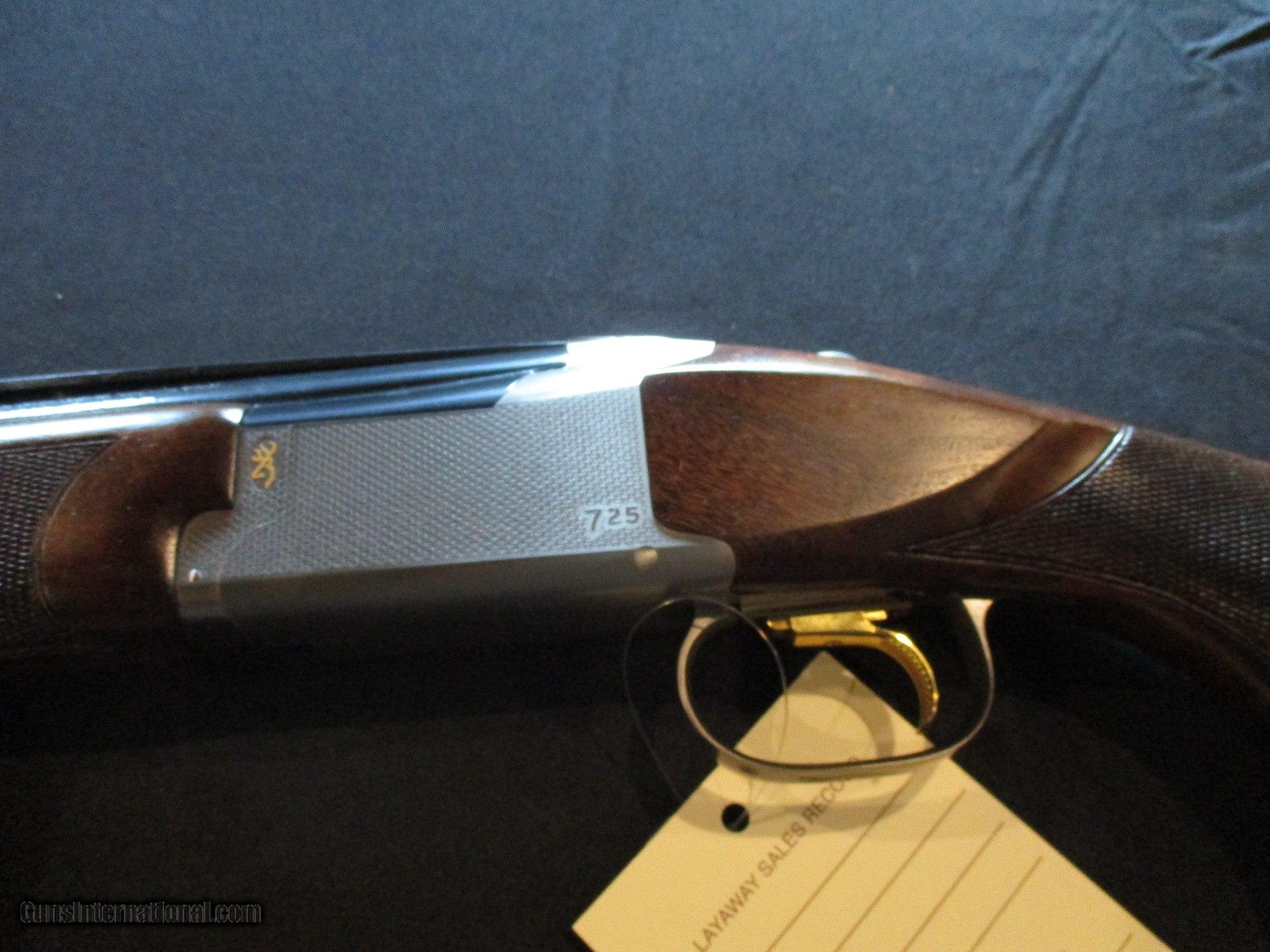 Browning Citori 725 Sport LEFT HAND LH 12ga, 32