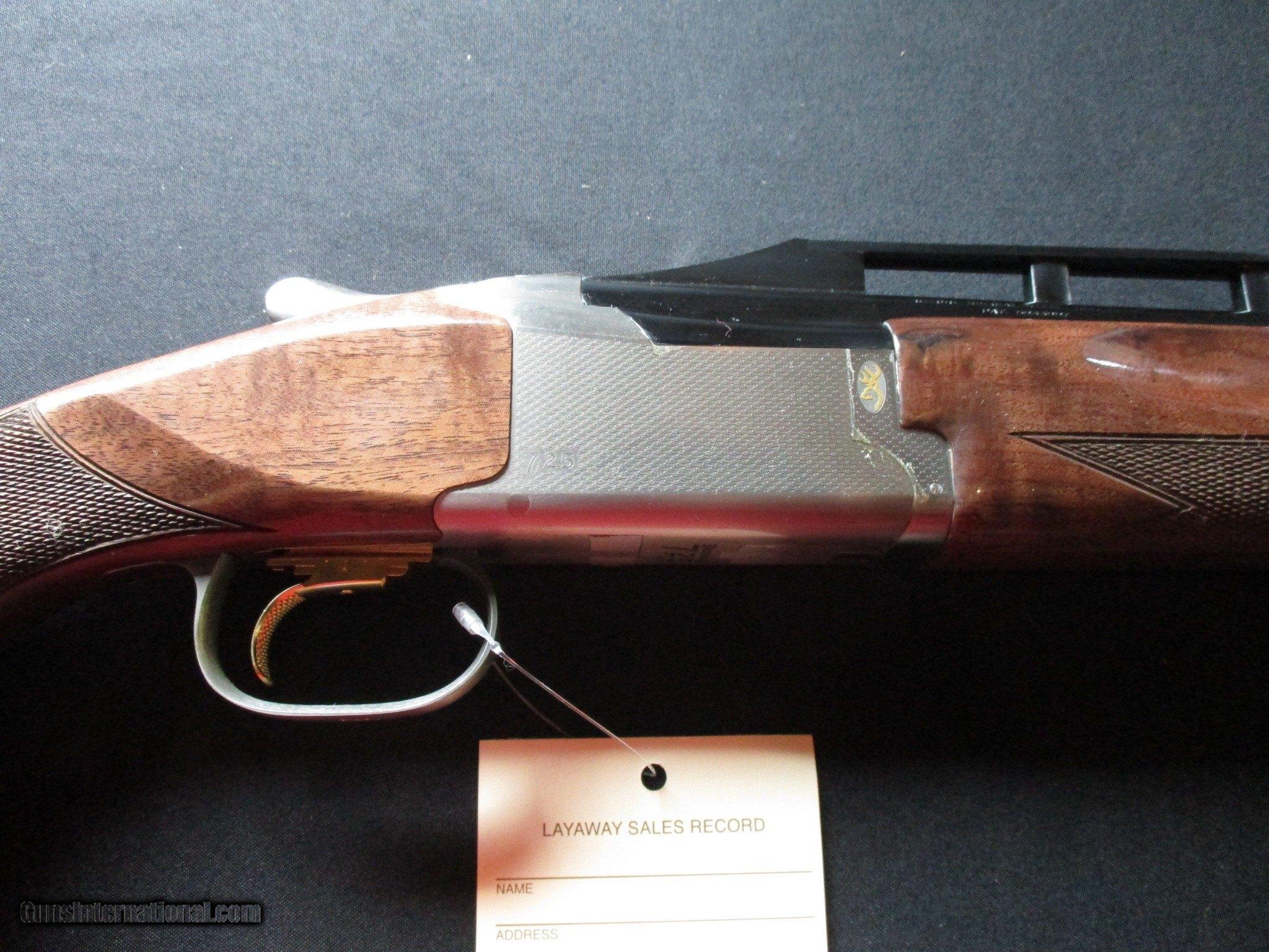 Browning Citori 725 Trap Adj Comb, LEFT HAND LH, NIB