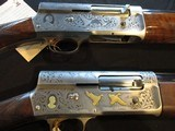 Browning Auto A 5 Classic and Gold Classic Pair with same Serial Number!