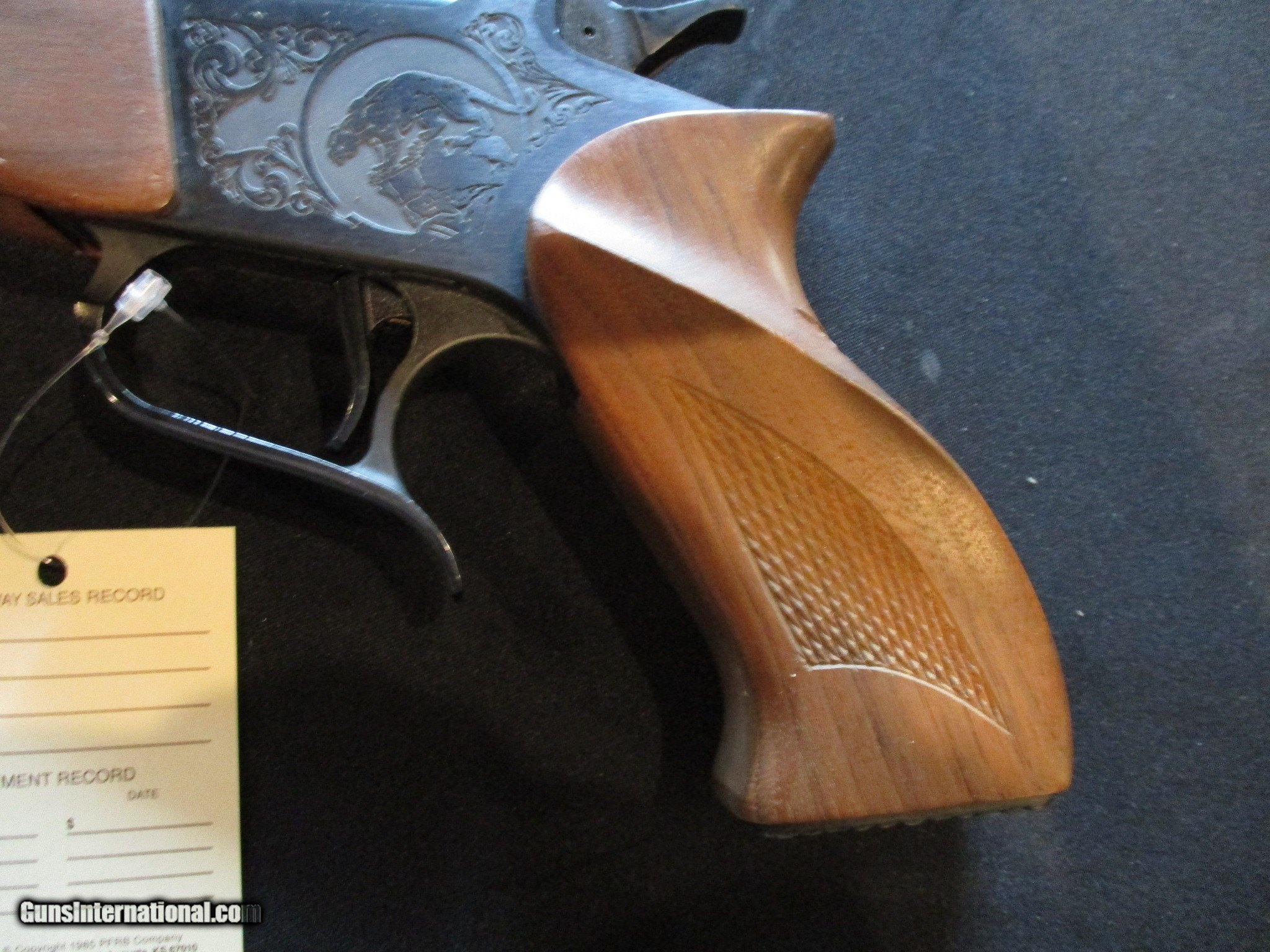 Thompson Center Contender, Early Vintage in Display Case