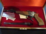 Thompson Center Contender, Early Vintage in Display Case, 45lc 410 and 22LR Barrels New old stock